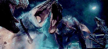 Jurassic World Final fight