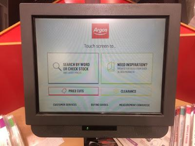 Today's Review: Argos Touch Screens