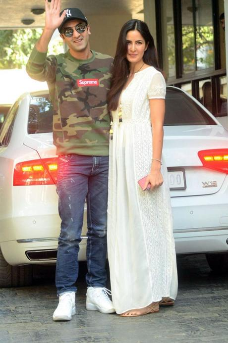 Ranbir Kapoor, Katrina Kaif Together at Christmas Brunch