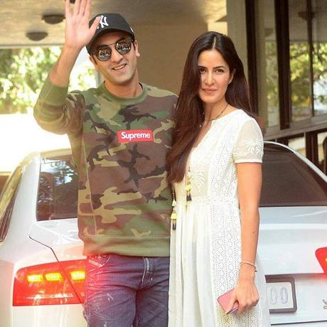 Ranbir Kapoor with Girlfriend Katrina