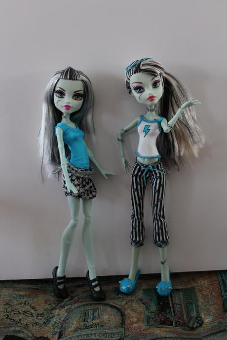 Dolly Review Monster High Frankie S Designer Booo Tique Paperblog