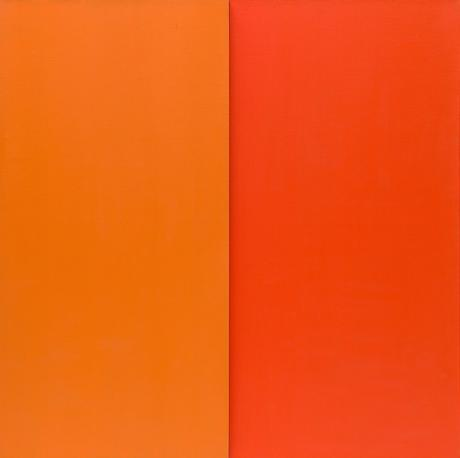 Ellsworth Kelly Orange & Red At MoMA