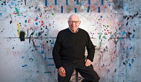 Ellsworth Kelly Portrait In 2012