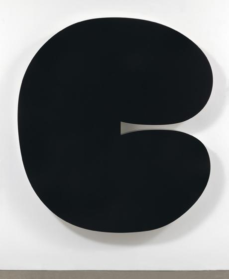 Ellsworth Kelly Black Form II Sculpture 2012