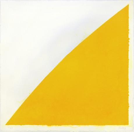 Ellsworth Kelly Yellow Curve
