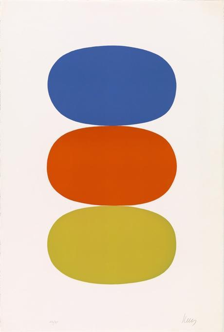 Ellsworth Kelly Stacked Ovals At MoMA