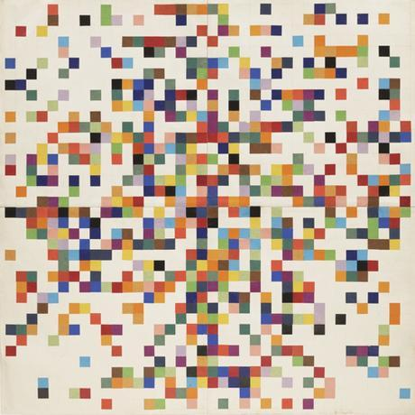 Ellsworth Kelly Abstract Art Collage