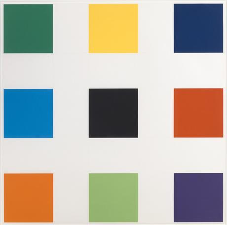 Ellsworth Kelly Nine Squares