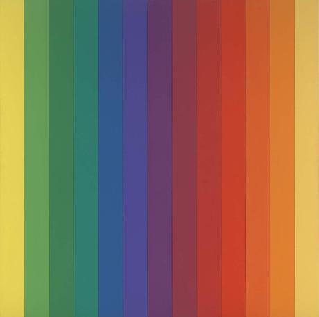 Ellsworth Kelly Spectrum IV