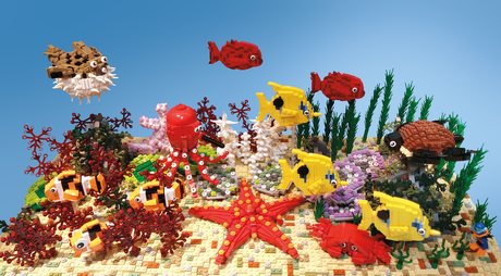 Impressive  LEGO Sculptures that Explores the Magic of the Natural World