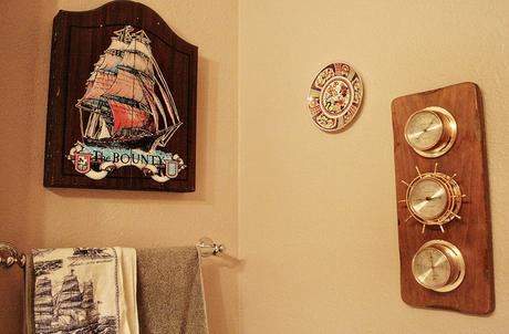 Pirate Bathroom Theme Adult Mature Sophisticated Grown Up How To Tips  Advice Decorating Nautical Oceanic Theme