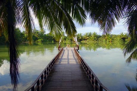 Scenery at Shangri-La, Maldives