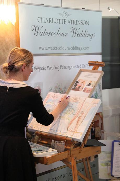 Charlotte Atkinson Watercolour Weddings