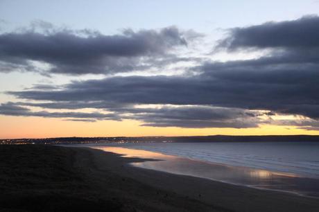 Saunton Sands at sunset