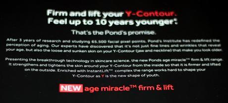 Pond's Age Miracle Firm & Lift Range - What We Should Know Before We Buy?