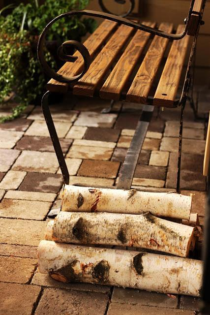 Happiness is Birch Logs in Your Home