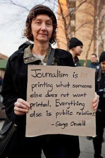 Maybe George Orwell was Wrong about Journalism