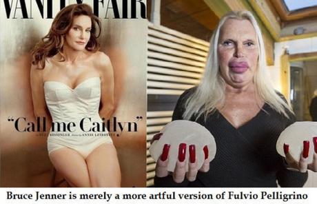 Bruce Jenner & Fulvio Pellegrino