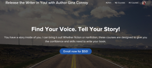 Screen Shot Release the Writer in You Teachable