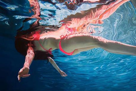 Canvas Santa Fe >> Hyperrealistic Underwater Paintings by Matt Story - Paperblog