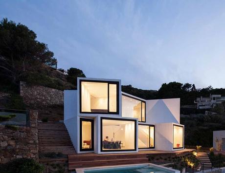 Architectural Tour Modern Minimalist House