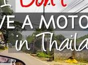 Don't Drive Motorbike Thailand
