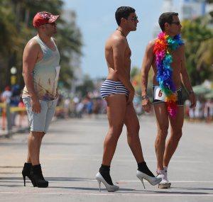 Gay Pride Parade, Miami Beach, 2013