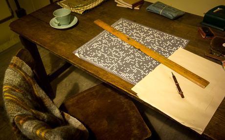Bletchley Park desk