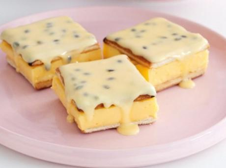 Passionfruit Custard Slice