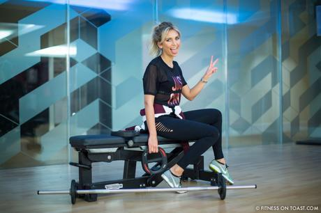 Fitness On Toast Faya Blog Girl Healthy Health Workout Arm Exercise Forever 21 Virgin Active Gym Training Fashion-12