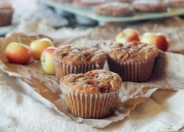 Apple Oatmeal Muffins (Vegan)