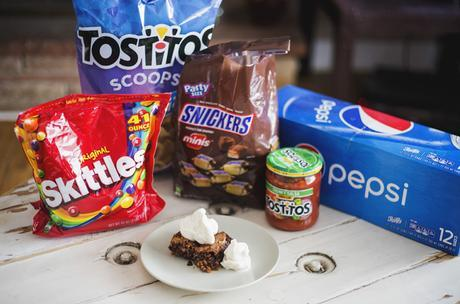 SNICKERS® Cookie-Brownie Recipe // Game Day Dessert Idea