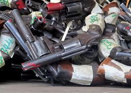 Jamaica Destroying Confiscated Guns