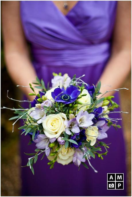 Purple Heaven – Leela and Sam's winter wedding {Sneak Peek}