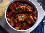 Chorizo Pork Belly with White Beans