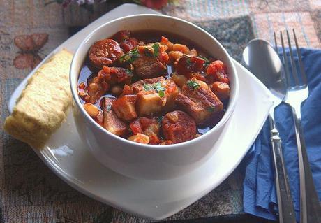 Pork belly chorizo recipe