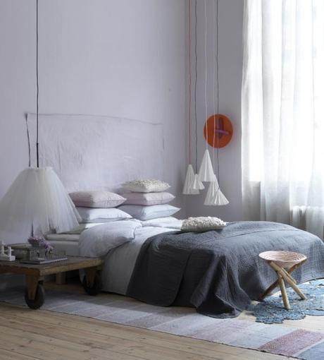 Lovely pastels – bedroom