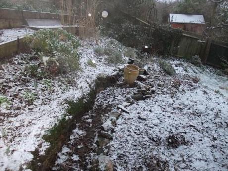 Half hearted winter wonderland