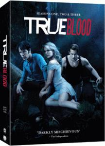True Blood seasons 1-3 DVD set
