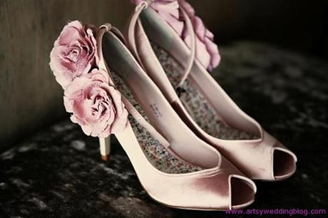 Hot pink ideas wedding Pink wedding gowns and pink wedding shoes are must