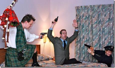Review unnecessary farce first folio theatre paperblog for Farcical plot