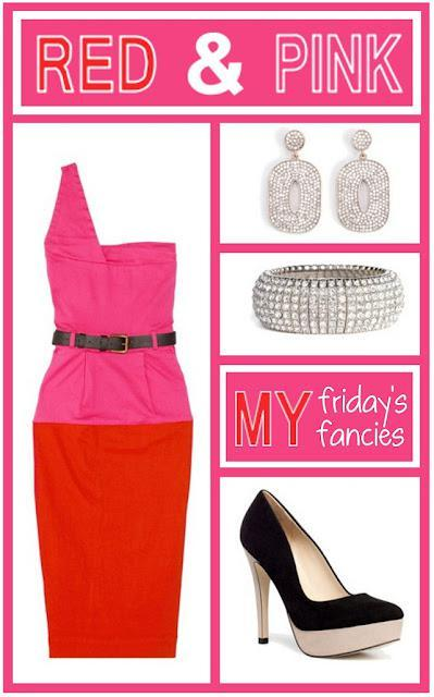 friday's fancies : red and pink.
