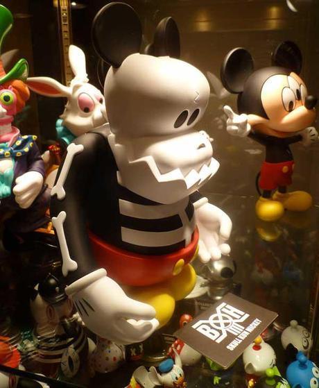 MINDstyle Skull Kun Mickey - Bounty Hunter BxH ⍾ Toy Fair 2012 #TF12 #ToyFairNY