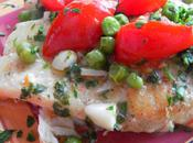 Unfussy Home Style Italian Fish With Peas