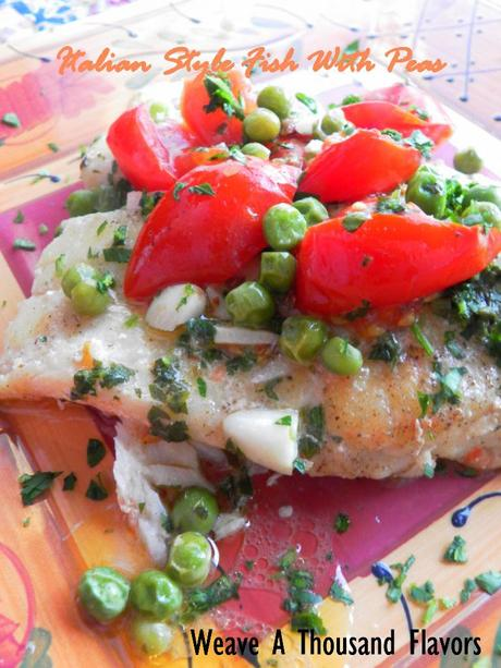 Italian Fish With Peas - 03