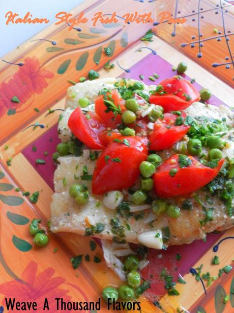 Italian Fish With Peas - 02