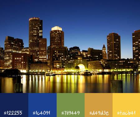 10 urban color schemes :: cityscapes