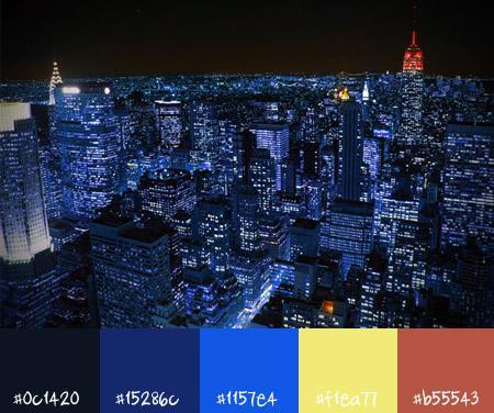 10 Urban Color Schemes Cityscapes Paperblog