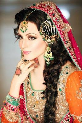 Ayesha Akhtar Latest Wedding Makeover Shoot