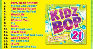 Kidz Bop 21: Today's Biggest Hits Sung By Kids For Kids